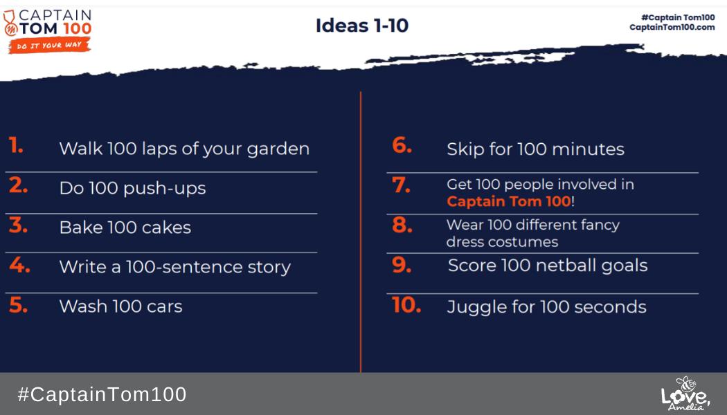 Ideas 1-10